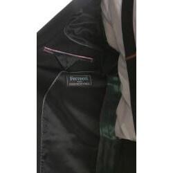 Ferrecci Men's Black Peaked Lapel Tuxedo - Thumbnail 2