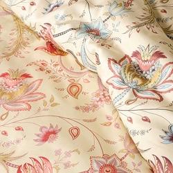 Florence Printed Cotton 3-piece King Size Duvet Cover Set - Thumbnail 2
