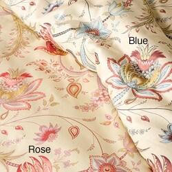 Florence Printed Cotton 3-piece Duvet Cover Set - Thumbnail 2
