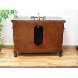 Granite Top 49-inch Bathroom Vanity - Thumbnail 2