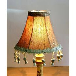 Gold Tapestry Chandelier Mini Shades (Set of 2)