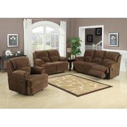 Bobbi Dual Reclining Sofa Set Free Shipping Today