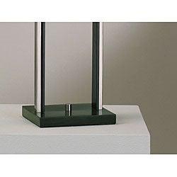 Nova Lighting 'Amarillo' Nickel Finish Table Lamp
