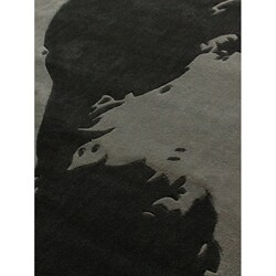 nuLOOM Handmade Pino Footprint Rug (5' x 8') - Thumbnail 2