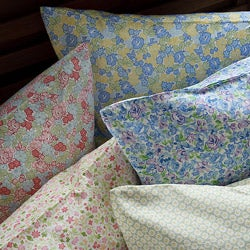 Laura Ashley Printed Cotton 300 Thread Count Full-size Sheet Sets - Thumbnail 2