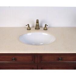 Marble Top 42-inch Single Sink Bathroom Vanity