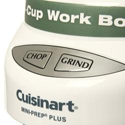 Cuisinart White Mini-prep Plus 4-cup Food Processor (Refurbished)
