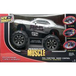 New Bright 1:10 Electric Monster Muscle Dodge Challenger RC Car