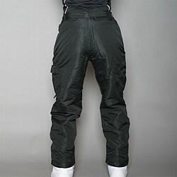Pulse Women's Black Cargo Snow Pants