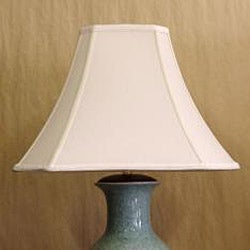 Light Blue Porcelain Crackle Table Lamp - Thumbnail 2