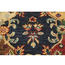 Hand-tufted Royal Garden Multicolor Floral Wool Rug (5' x 8') - Thumbnail 2