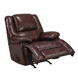New Creations Camden Chestnut Color Contemporary Recliner - Thumbnail 2