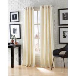 Astor Chenille 84-inch Grommet Window Panel Pair - Thumbnail 2