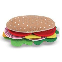 Melissa & Doug Felt Food Sandwich Play Set - Thumbnail 2