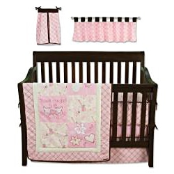 Shop Trend Lab Rock Angel Six Piece Crib Bedding Set
