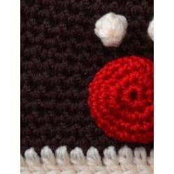 WhooHat Children's Reindeer Crochet Hat - Thumbnail 2