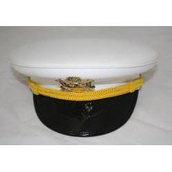 Ferrecci Men's White Cadet Hat - Thumbnail 2