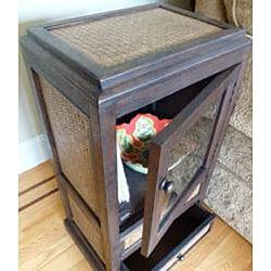 Handmade Teak Wood Jaruk Cabinet (Thailand)