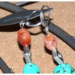 Susen Foster 'I Love PBR' Earrings