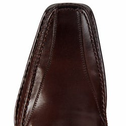 Steve Madden Men's 'Bigg' Brown Loafers - Thumbnail 2