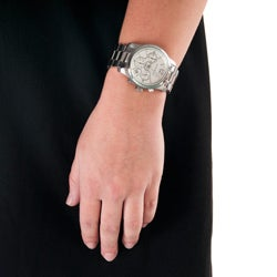 Republic Women's Stainless Steel Chronograph Watch - Thumbnail 2