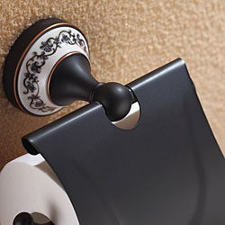 Kraus Apollo Oil Rubbed Bronze Tissue Holder with Cover