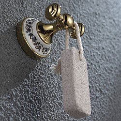 Kraus Apollo Bathroom Accessories - Double Hook Gold