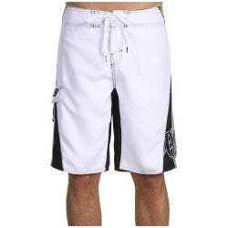 O'Neill Men's 'Grinder' White/ Green Boardshorts - Thumbnail 2