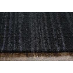 Flat-weave Blue Wool Rug (5' x 8')
