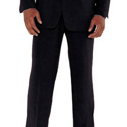 Divine Apparel Men's Two-piece Black Suit - Thumbnail 2