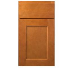 Honey stained 12 inch wide base cabinet free shipping for 12 inch wide kitchen cabinets