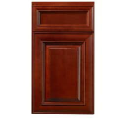 Cherry Stain/ Chocolate Glaze 24-inch Wide Wall Cabinet - Thumbnail 2