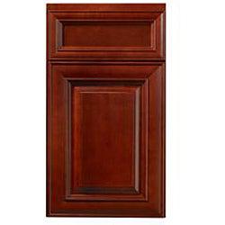 Cherry Stain/ Chocolate Glaze 36-inch Wall Blind Corner Cabinet