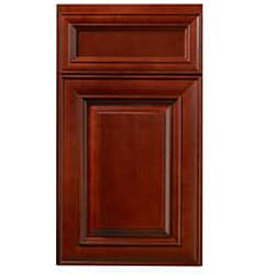 Cherry Stain/Chocolate Glaze Wall Blind Corner Kitchen Cabinet (30x24)