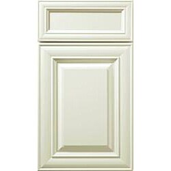 Base Lazy Susan Antique White 36 x 34.5 in. Corner Cabinet - Thumbnail 2