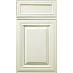 Antique White Paint 30 x 30 in. Wide Wall Blind Corner Cabinet - Thumbnail 2