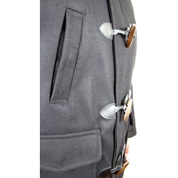 Hudson Outerwear Men's Toggle Wool Coat - Thumbnail 2
