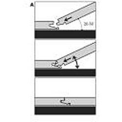 Easy Install 12mm Single-Strip Royal Mahogany Laminate Flooring (113.54 SF) - Thumbnail 2