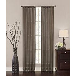 Jute 84-inch Curtain Panel