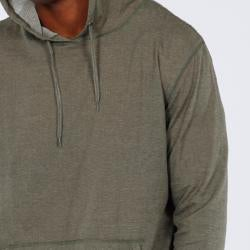 191 Unlimited Men's Green Pullover Hoodie - Thumbnail 2