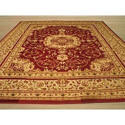 EORC Red Esfahan Rug (7'10 x 9'10)