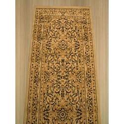 Ivory Esfahan Rug (2'3 x 7'3)