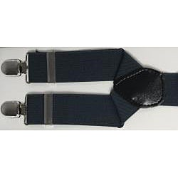 Ferrecci Men's Blue-Gray Suspenders