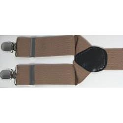 Ferrecci Men's Camel Tan Suspenders