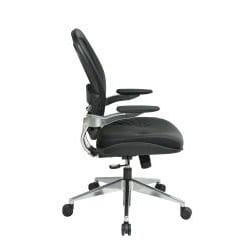 Office Star Products Professional Leather Seat Air Grid Chair - Thumbnail 2