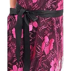 Stanzino Women's Fuschia Strapless Belted Dress