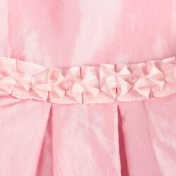Donita Girl's Ruffle Hemmed Dress - Thumbnail 2