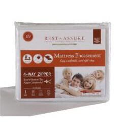 Rest Assure Bite Barrier Waterproof Queen-size Mattress Encasement
