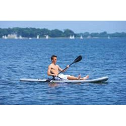 Rave Sports Palau Stand Up Paddle Board with Kayak Adjustable Seat - Thumbnail 2