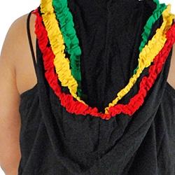 Women's Rasta Hoodie Dress (Nepal)